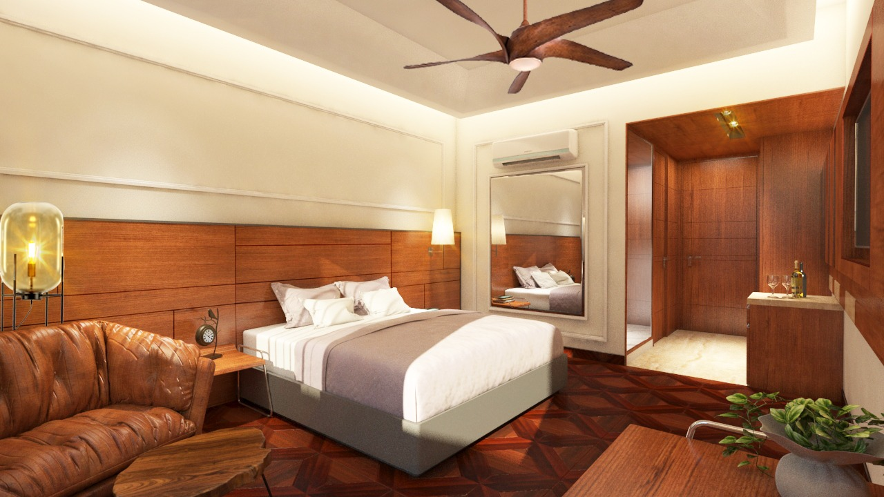 Executive Deluxe Room -Bed View